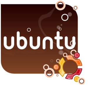 ubuntu-splash-brown