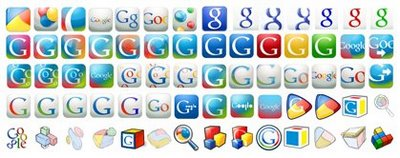 Google favicon permutations (partial list)