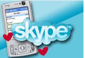 Skype in Nokia mobiles